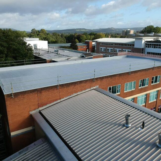 Commercial Roofers In Cardiff