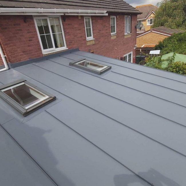 Standing Seam Flat Roofs Cardiff